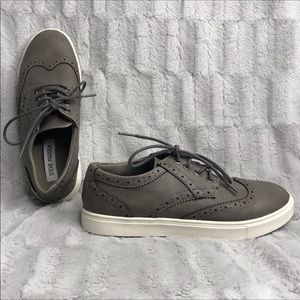 Steve Madden Bgamma Leather Oxford Tennis Shoes